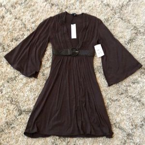 Brown sky dress xs brand new with tags